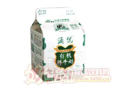 涌优有机鲜牛奶270ml