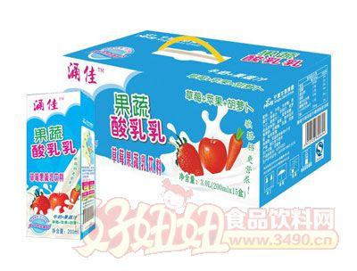 涌佳利乐砖果蔬酸乳乳草莓果蔬乳饮料