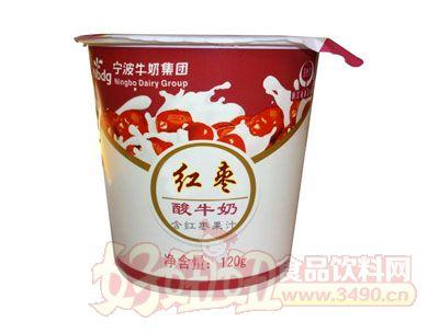 红枣酸牛奶含红枣果汁120g