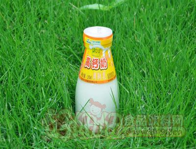 瓶装高钙鲜奶195ml