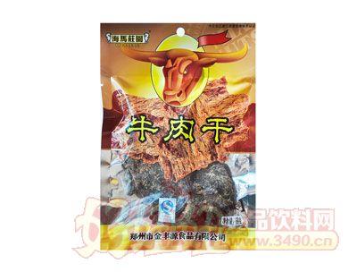海马庄园沙嗲牛肉干68g