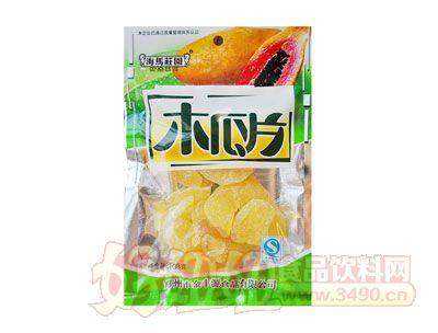 海马庄园木瓜片108g