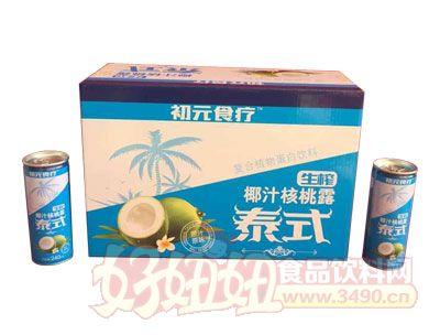 初元食疗泰式生榨椰汁核桃露