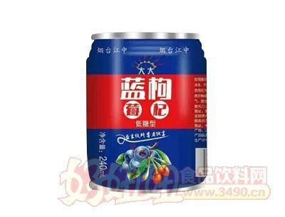 均洋蓝枸罐装饮料