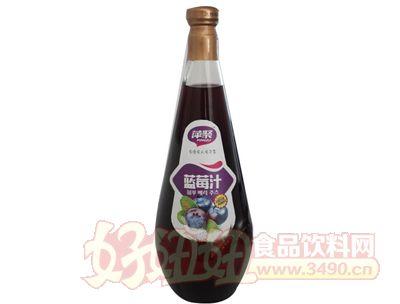 萍聚蓝莓汁饮料1.5L
