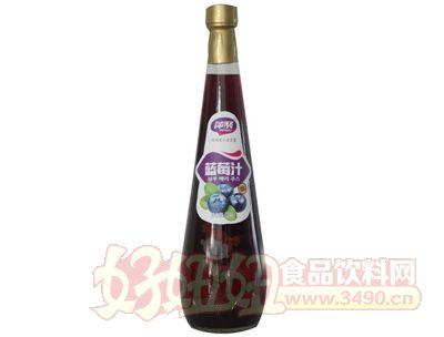 萍聚蓝莓汁饮料838ml