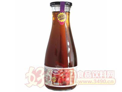 萍聚苹果汁饮料1L