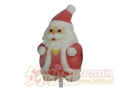 呼啦啦30克圣诞老人棉花糖