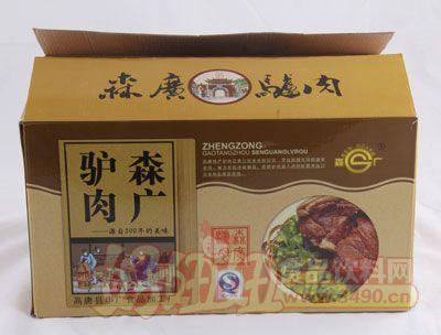 森广驴肉纸箱装