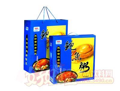 宏易堂鲍鱼粥无蔗糖320g6罐装