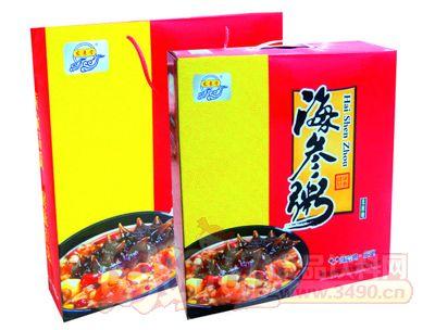 宏易堂海参粥无蔗糖320g6罐红盒装