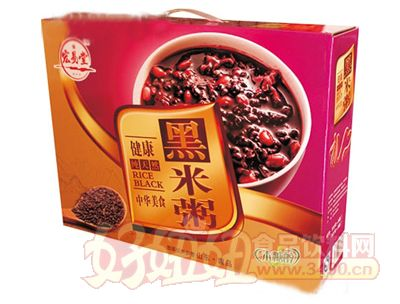 宏易堂黑米粥箱
