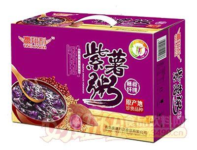 紫薯粥膳食纤维