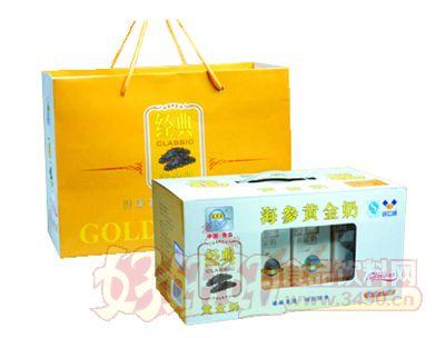 宏易堂海�ⅫS金奶250g10盒�b