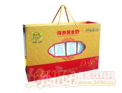 宏易堂海�ⅫS金奶250ml8盒金色�b
