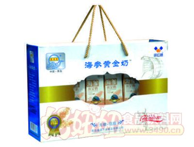 宏易堂海�ⅫS金奶250ml8盒�{色�b