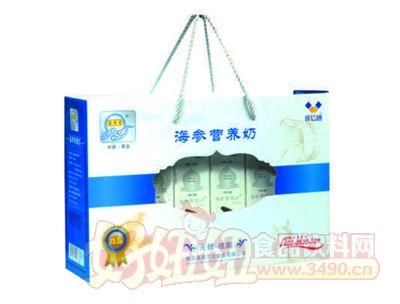 宏易堂尚品海参黄金奶250ml8盒白色装