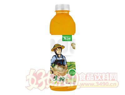 龙力卡生榨哈密瓜汁600ml