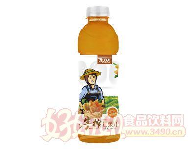 龙力卡生榨芒果汁600ml