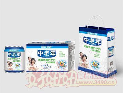 初元食疗中老年低脂低糖钙中钙饮品