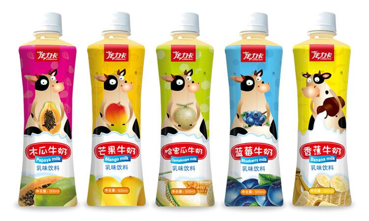 龙力卡乳味饮料系列