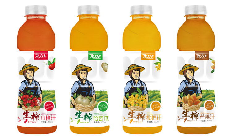 龙力卡果汁系列
