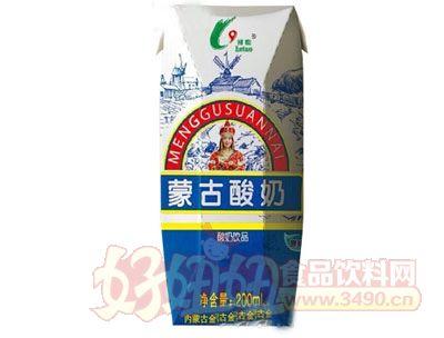 河套蒙古酸奶钻石装200ml