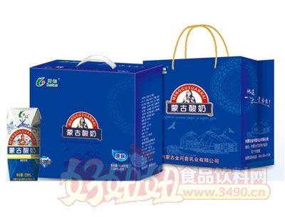 河套蒙古酸奶200mlx12盒组合