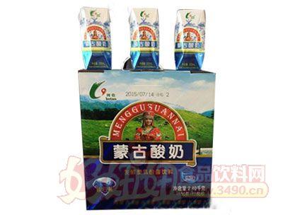 河套蒙古酸奶钻石装200克x12盒
