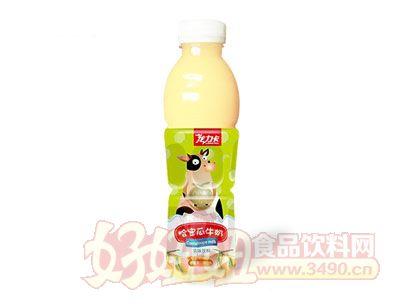 龙力卡哈密瓜牛奶乳味饮料600ml