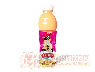 龙力卡木瓜牛奶乳味饮料600ml