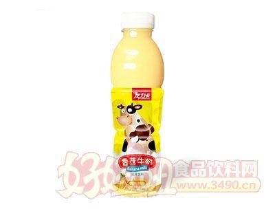 龙力卡香蕉牛奶乳味饮料600ml