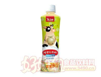 龙力卡哈密瓜牛奶饮料500ml