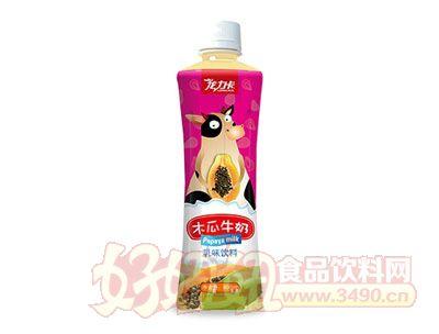 龙力卡木瓜牛奶500ml