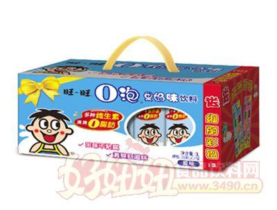 旺旺O泡果奶250ml�Y盒(原味)