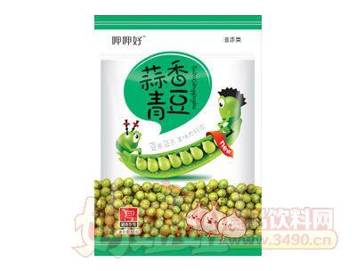 五味园呷呷好蒜香青豆100g