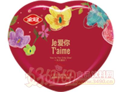 50g�勰闶种票馓胰�A心巧克力(心�F盒�b)