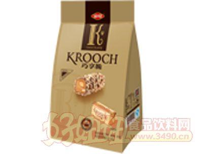 50g巧享脆奶油香草果仁脆酥糖心型�F盒
