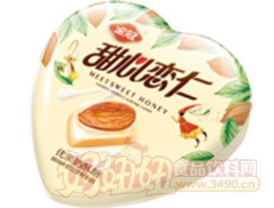 68克甜心恋仁心优果奶酥形铁盒