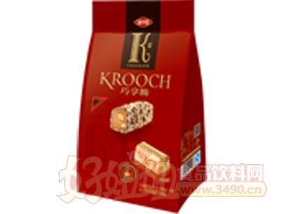 80g巧享脆奶油香草果仁巧克力(直立袋装)