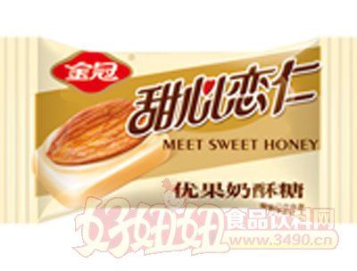 甜心�偃��果奶酥糖-金色