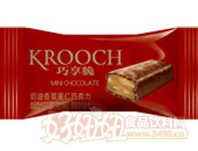 枕式mini巧享脆奶油太妃果仁巧克力红色