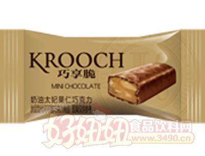 枕式mini巧享脆奶油太妃果仁巧克力金色