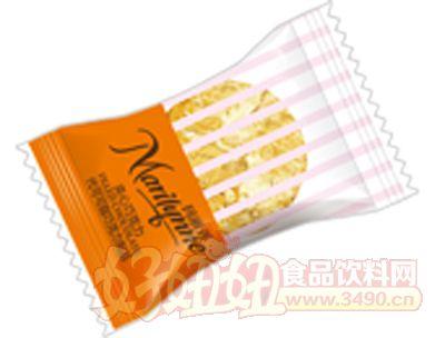 枕式玛丽莲夹心巧克力橙色红色米黄色