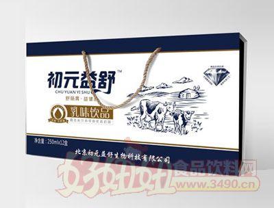 初元益舒乳味饮品木盒子250ml×12