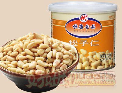 恒康食品松子仁150g罐�b