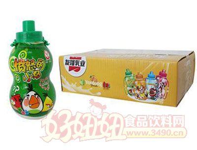 友隆愤怒的小鸟乳饮料230ml(黄)