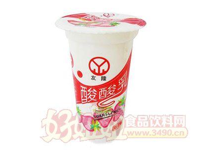 友隆-酸酸乳草莓味220ml