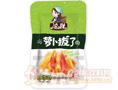 凌妹�}卜泡椒味40g
