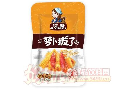凌妹萝卜香辣味40g